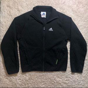Adidas size medium black zip up sweater